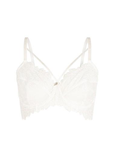 Penti Beyaz Curvy Lace Sütyen Beyaz